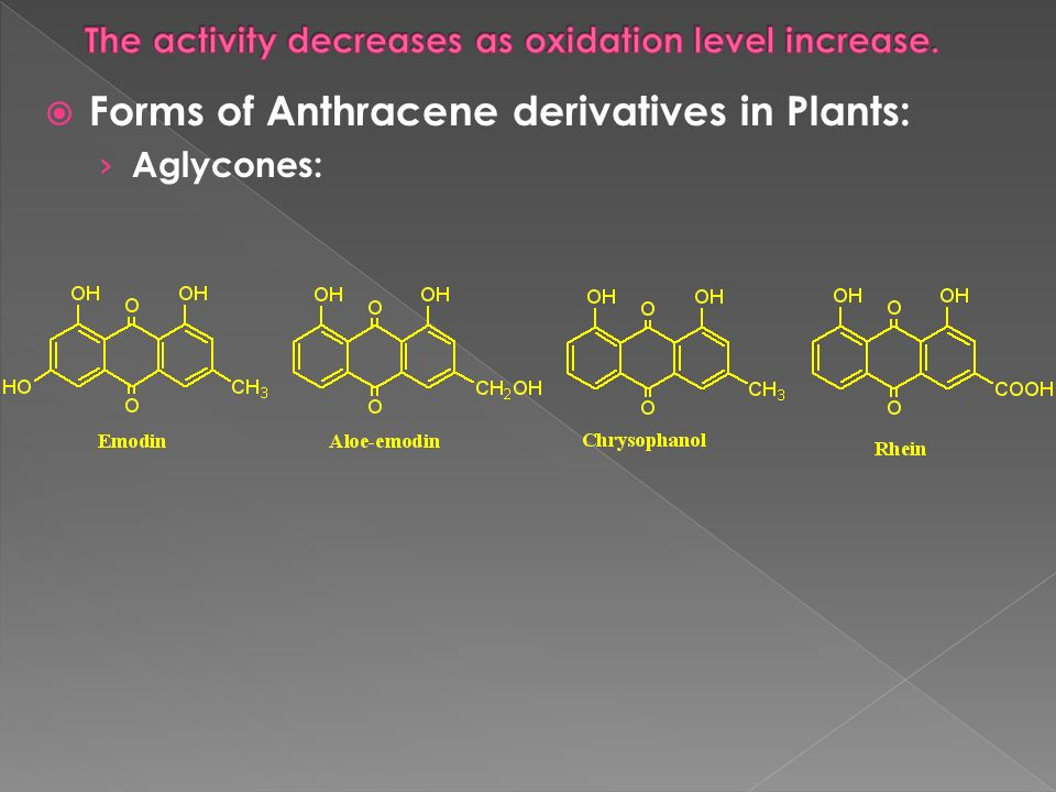 The activity decreases as oxidation level increase.