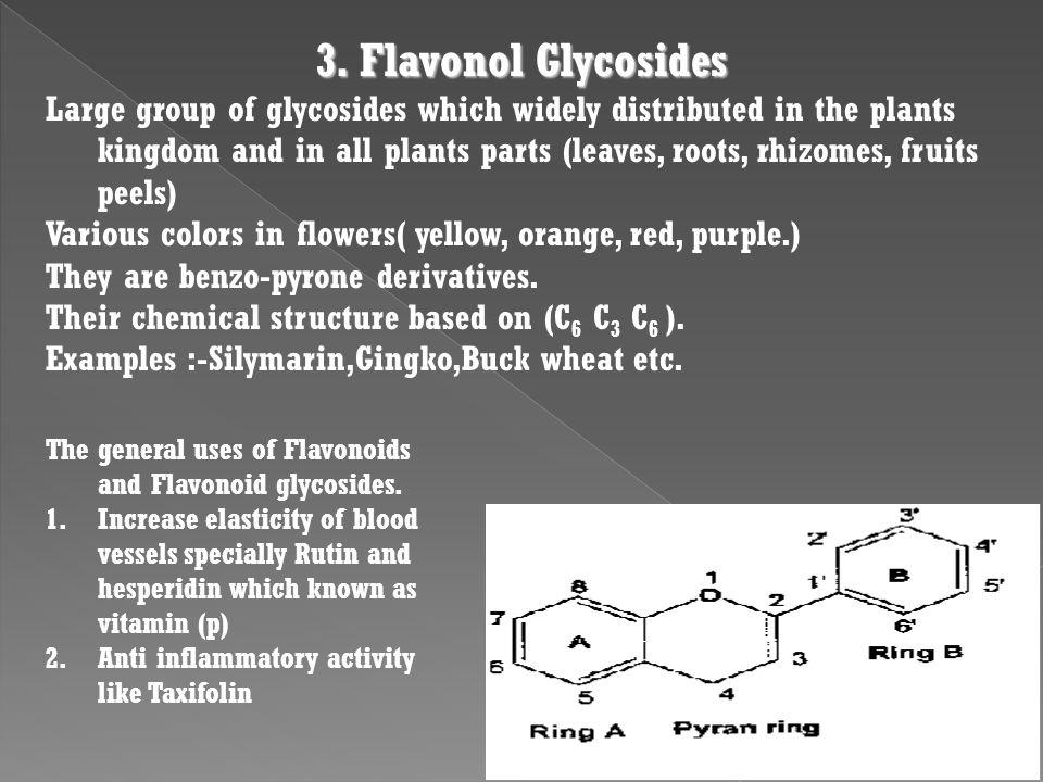 3. Flavonol Glycosides