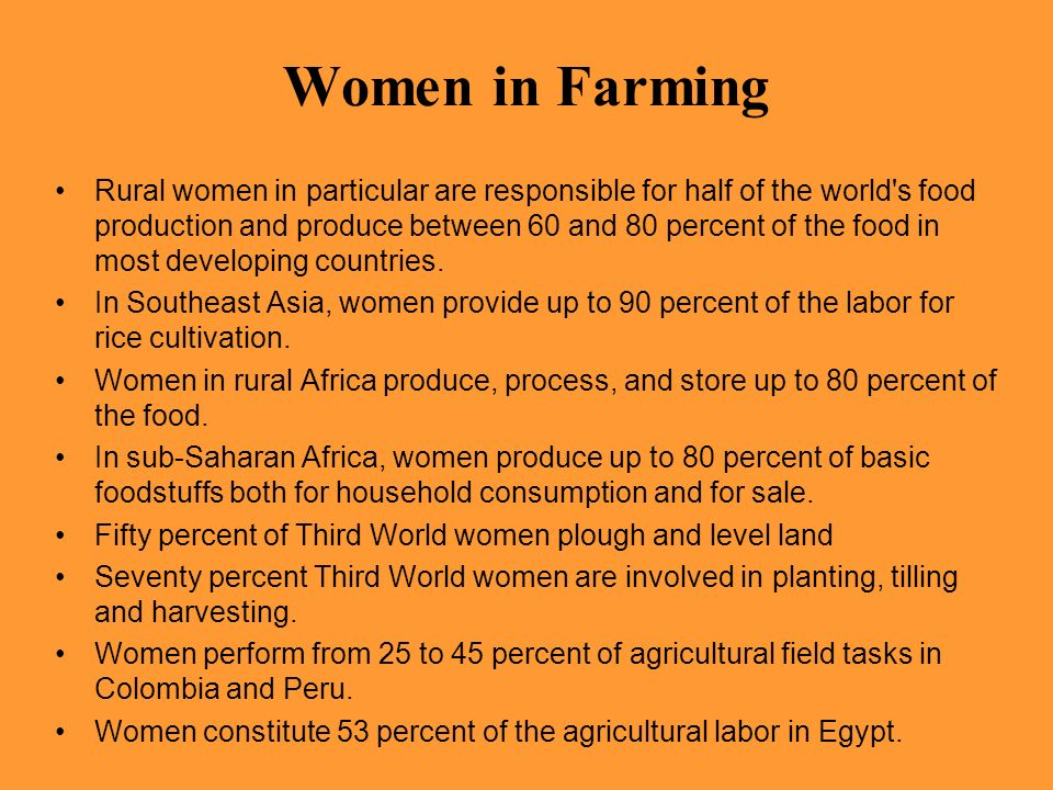 Women in Farming