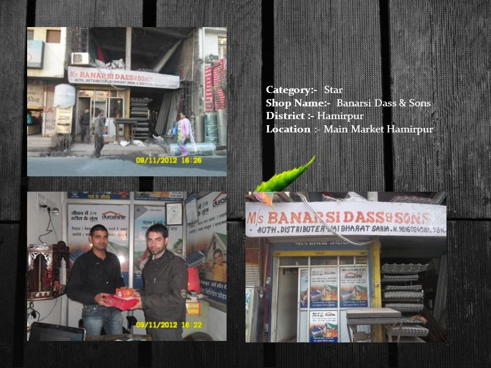 Category:- Star Shop Name:- Banarsi Dass & Sons.