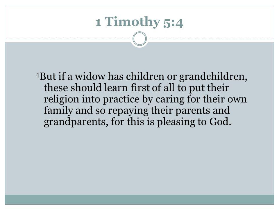 1 Timothy 5:4
