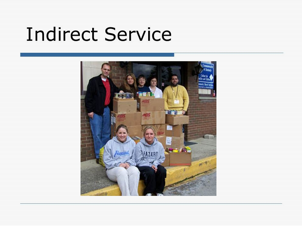 Indirect Service