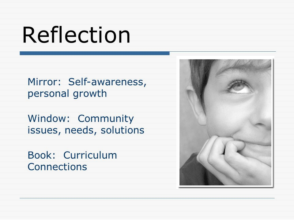 Reflection Mirror: Self-awareness, personal growth