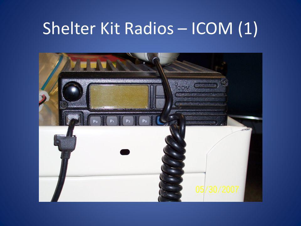 Shelter Kit Radios – ICOM (1)