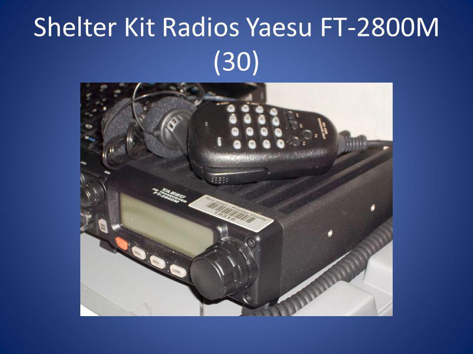 Shelter Kit Radios Yaesu FT-2800M (30)
