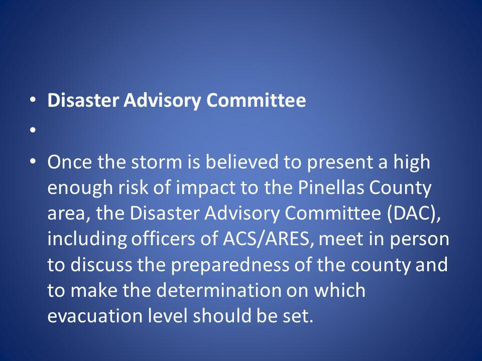 Disaster Advisory Committee
