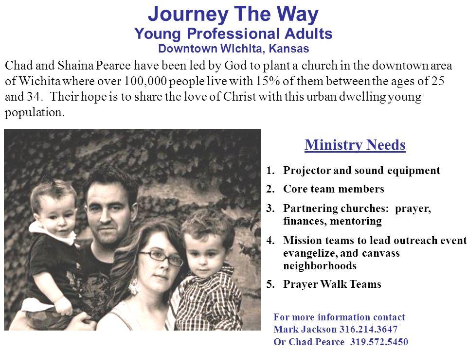 Journey The Way Young Professional Adults Downtown Wichita, Kansas