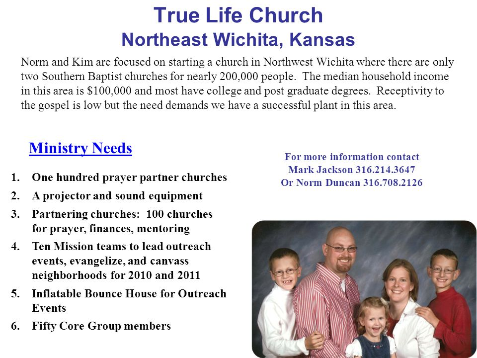 True Life Church Northeast Wichita, Kansas