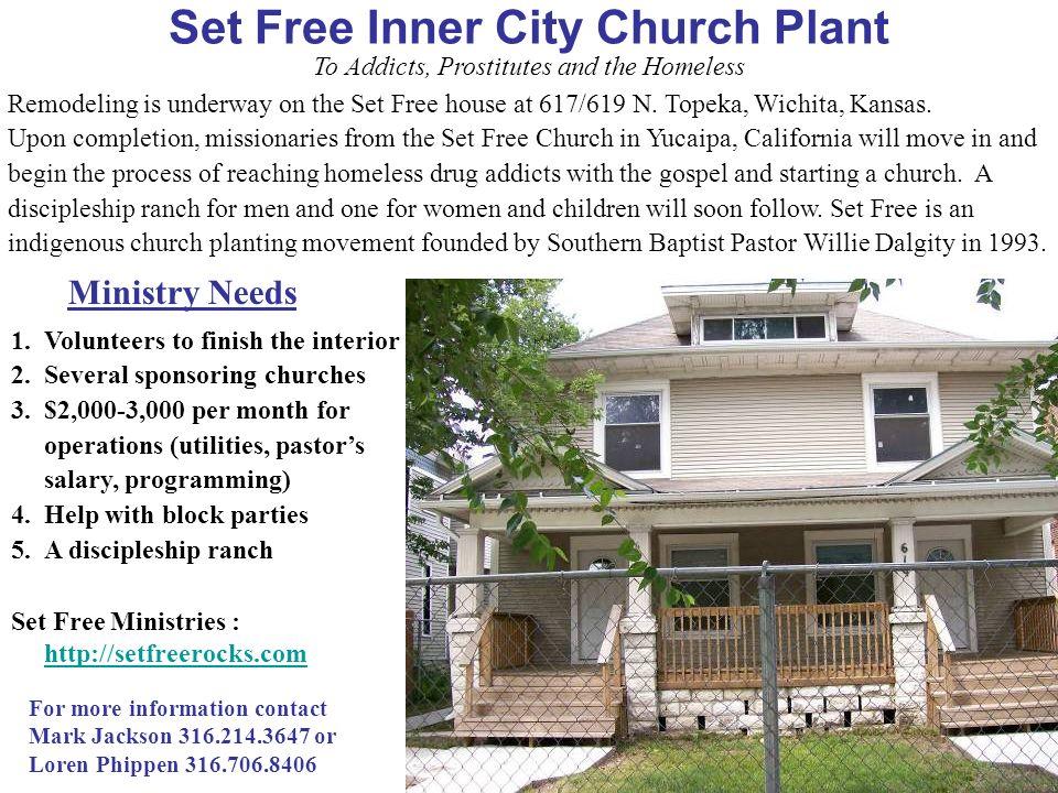 Set Free Inner City Church Plant