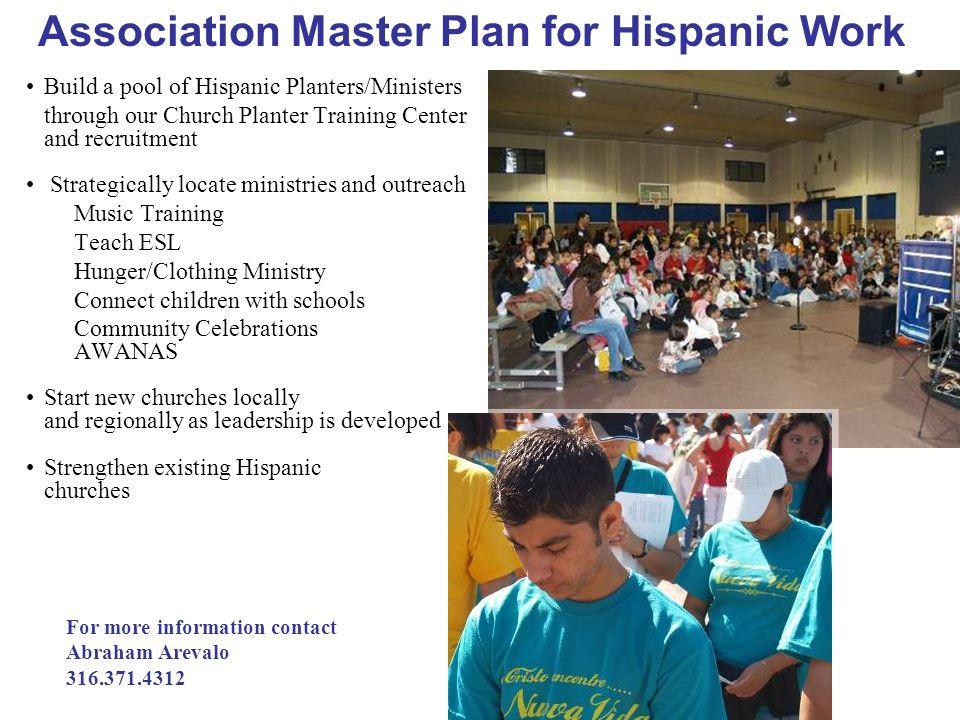 Association Master Plan for Hispanic Work