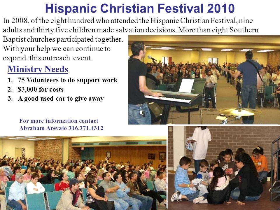 Hispanic Christian Festival 2010