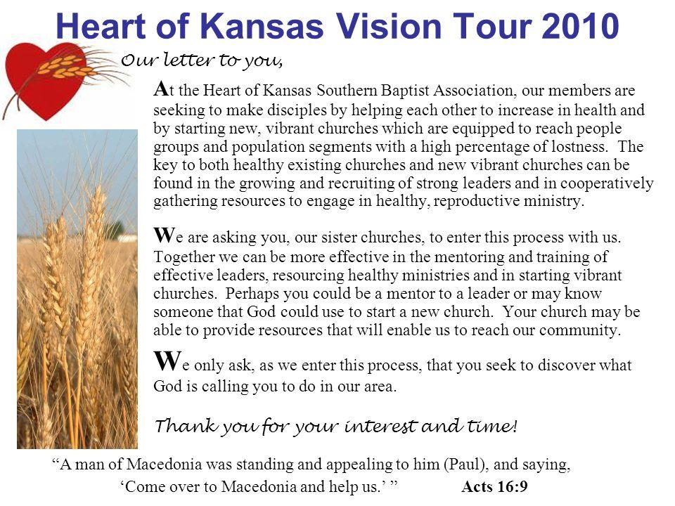 Heart of Kansas Vision Tour 2010