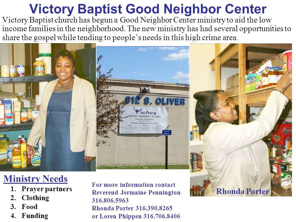 Victory Baptist Good Neighbor Center