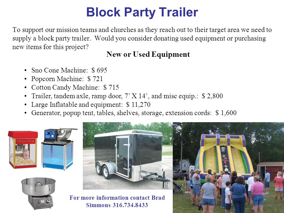 For more information contact Brad Simmons 316.734.8433