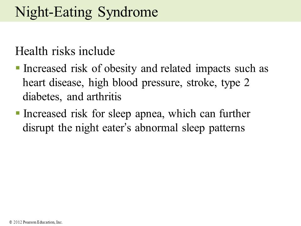 Night-Eating Syndrome