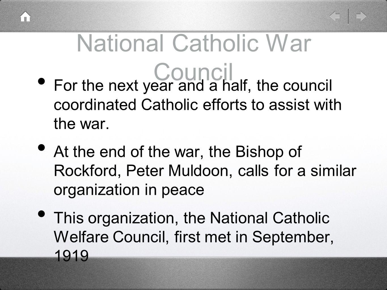 National Catholic War Council