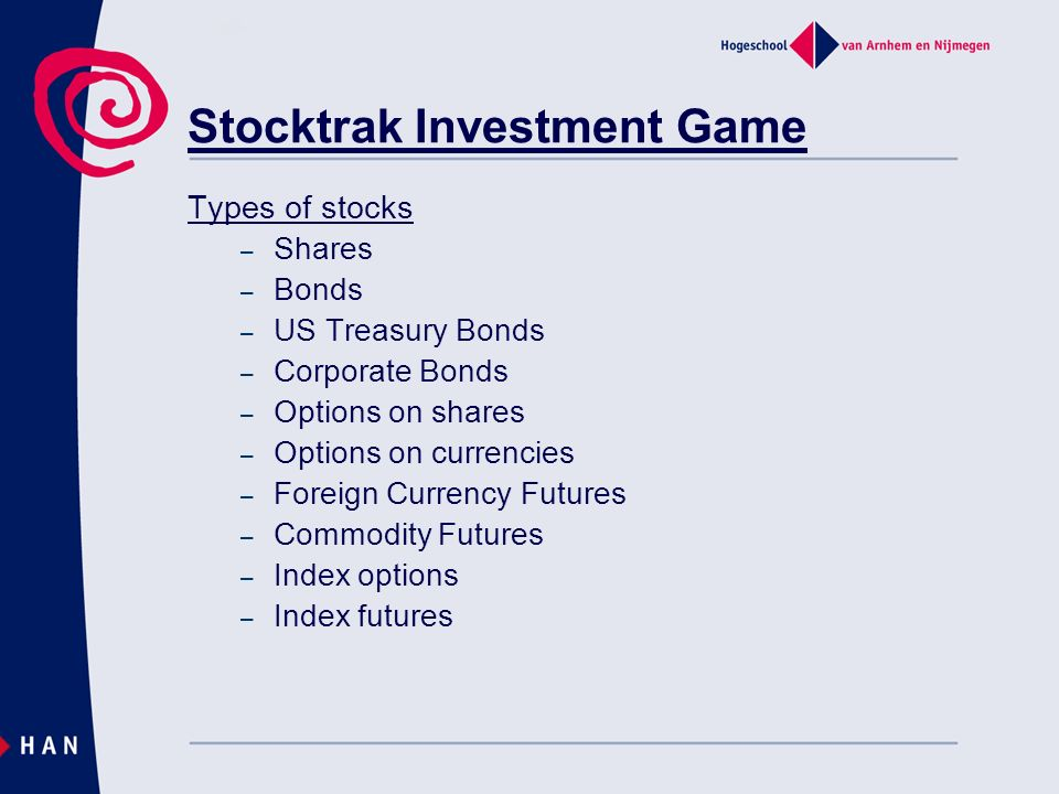 Stocktrak Investment Game