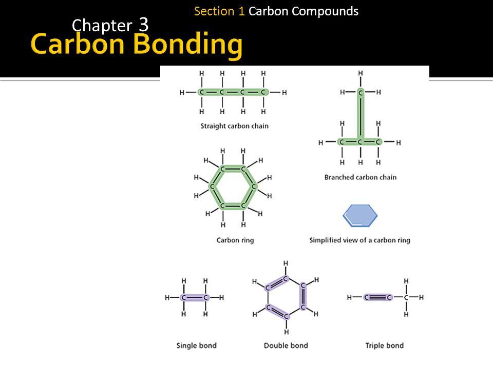 Section 1 Carbon Compounds