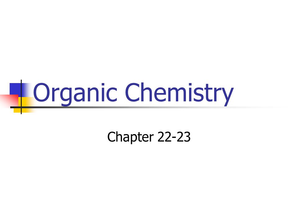 Organic Chemistry Chapter 22-23
