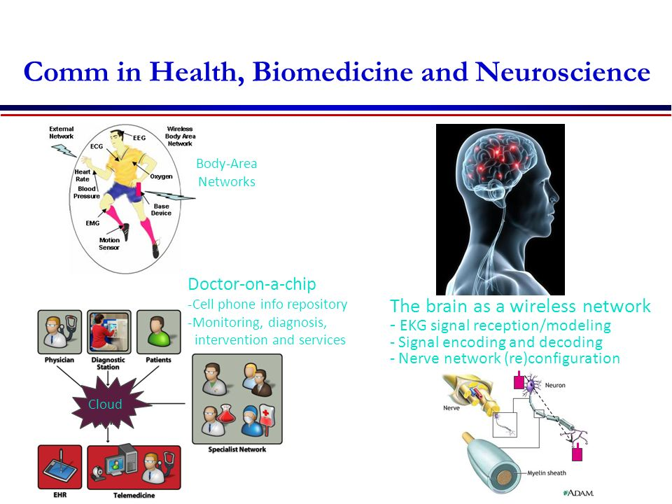 Comm in Health, Biomedicine and Neuroscience