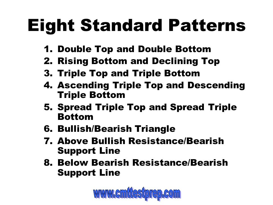Eight Standard Patterns