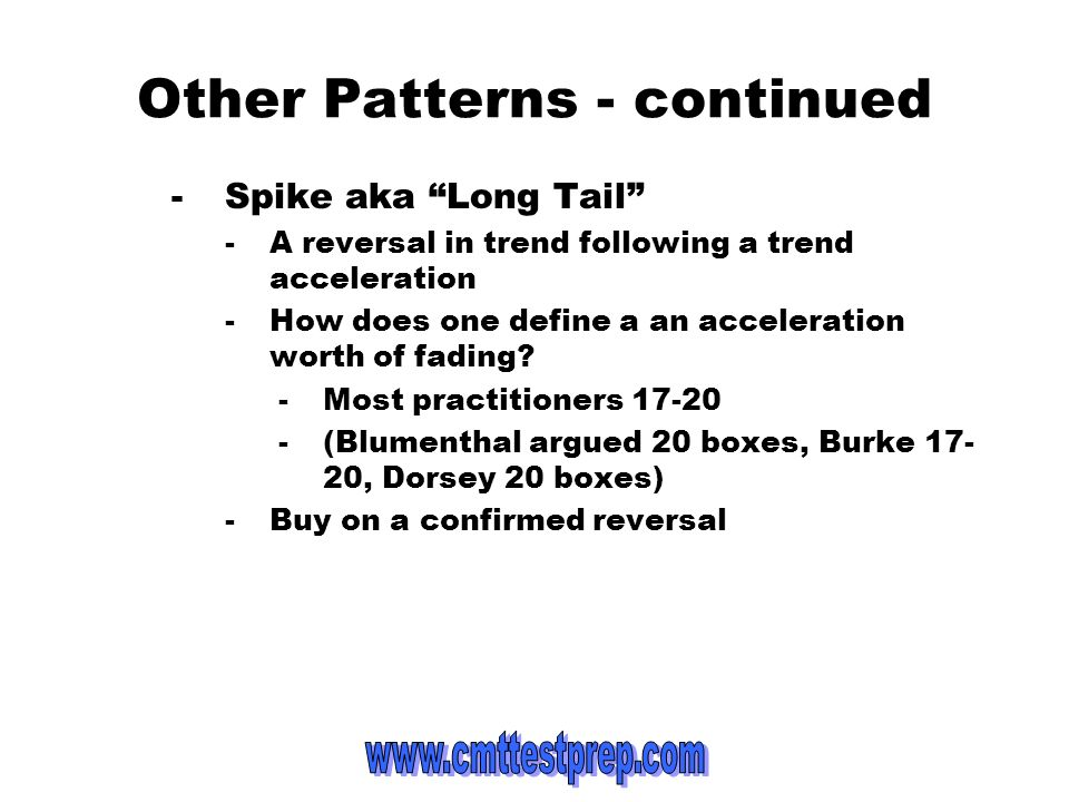 Other Patterns - continued