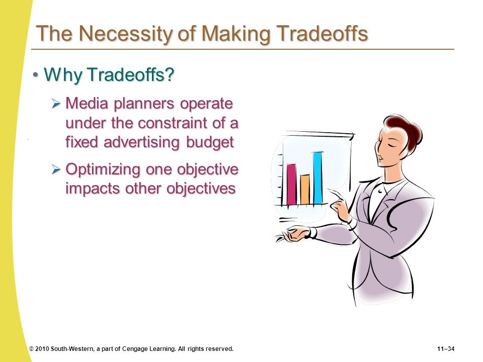 The Necessity of Making Tradeoffs