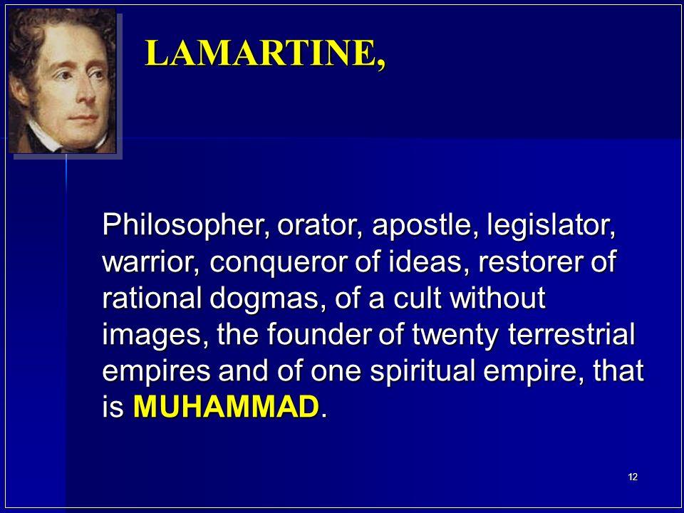 LAMARTINE,
