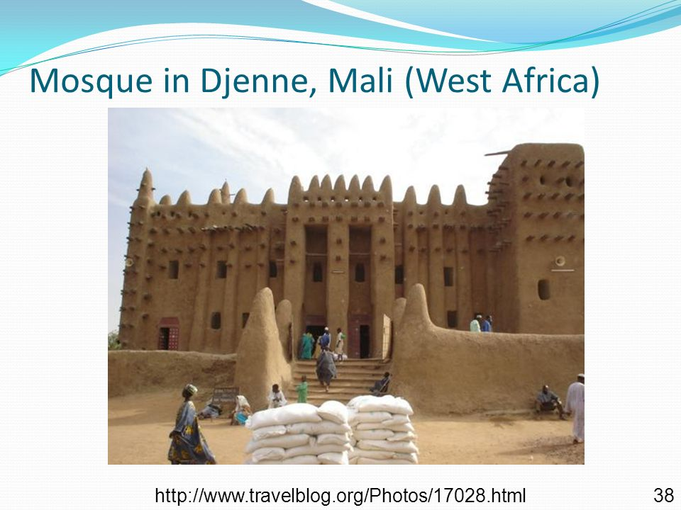 Mosque in Djenne, Mali (West Africa)