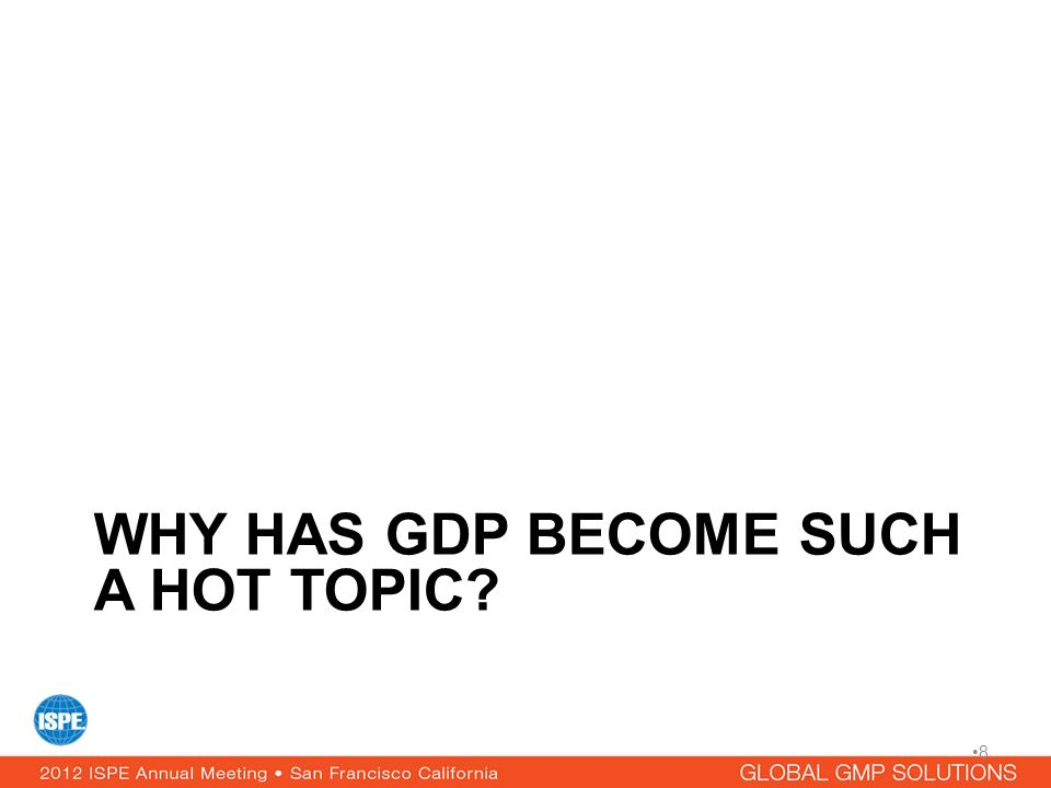 Why has GDP become such a hot topic