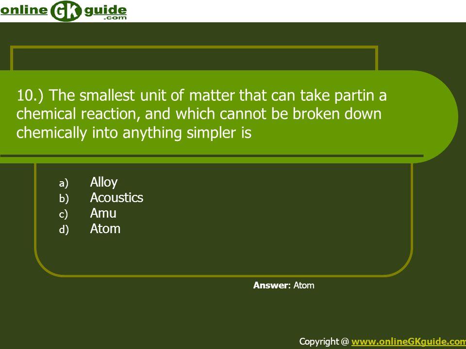 Alloy Acoustics Amu Atom