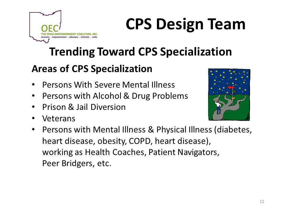 Trending Toward CPS Specialization
