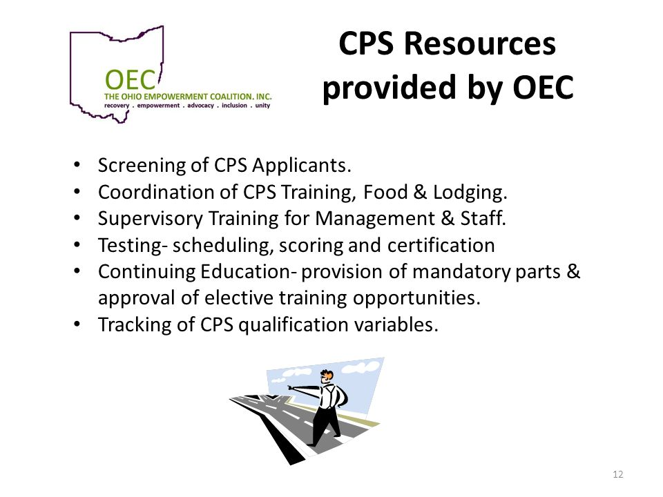 CPS Resources provided by OEC