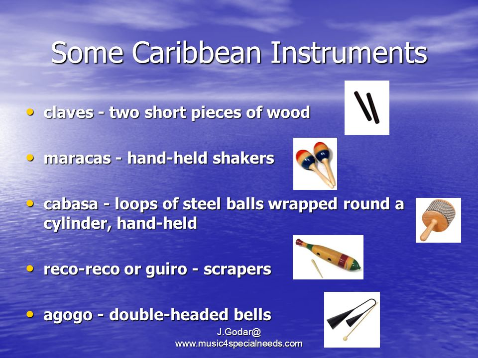 Some Caribbean Instruments