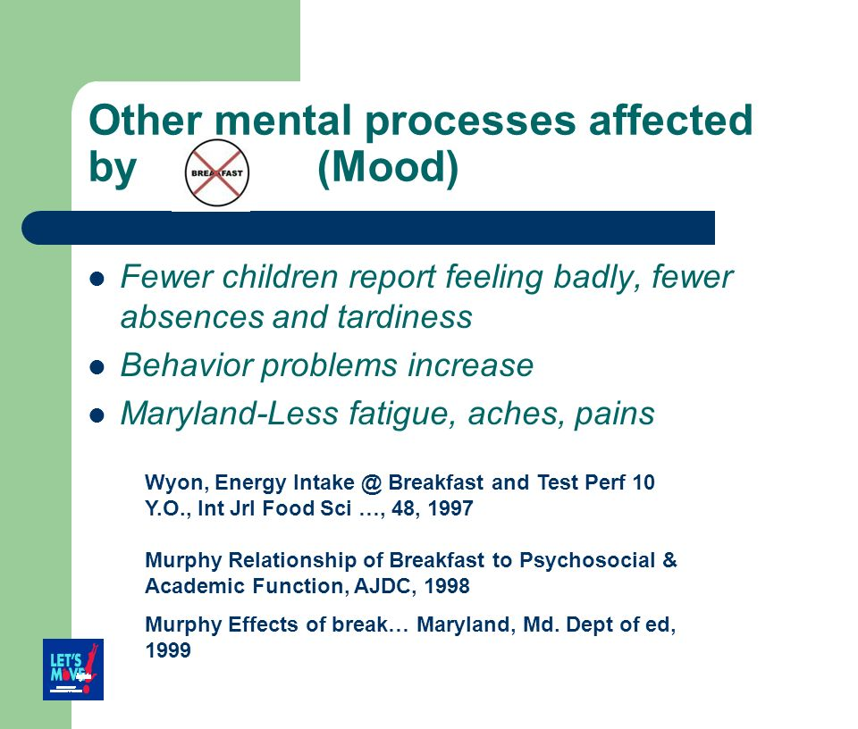 Other mental processes affected by (Mood)