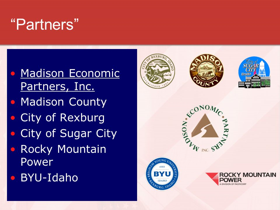 Partners Envision Madison: Madison Economic Partners, Inc.