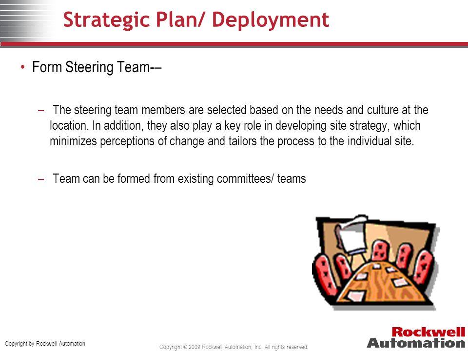 Strategic Plan/ Deployment