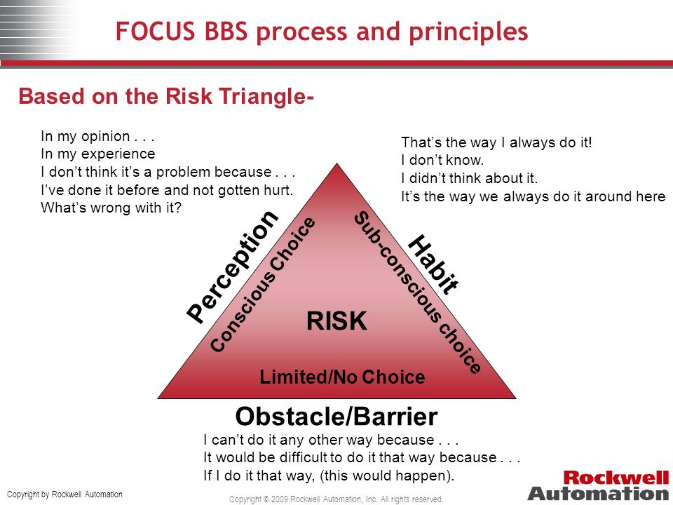 FOCUS BBS process and principles