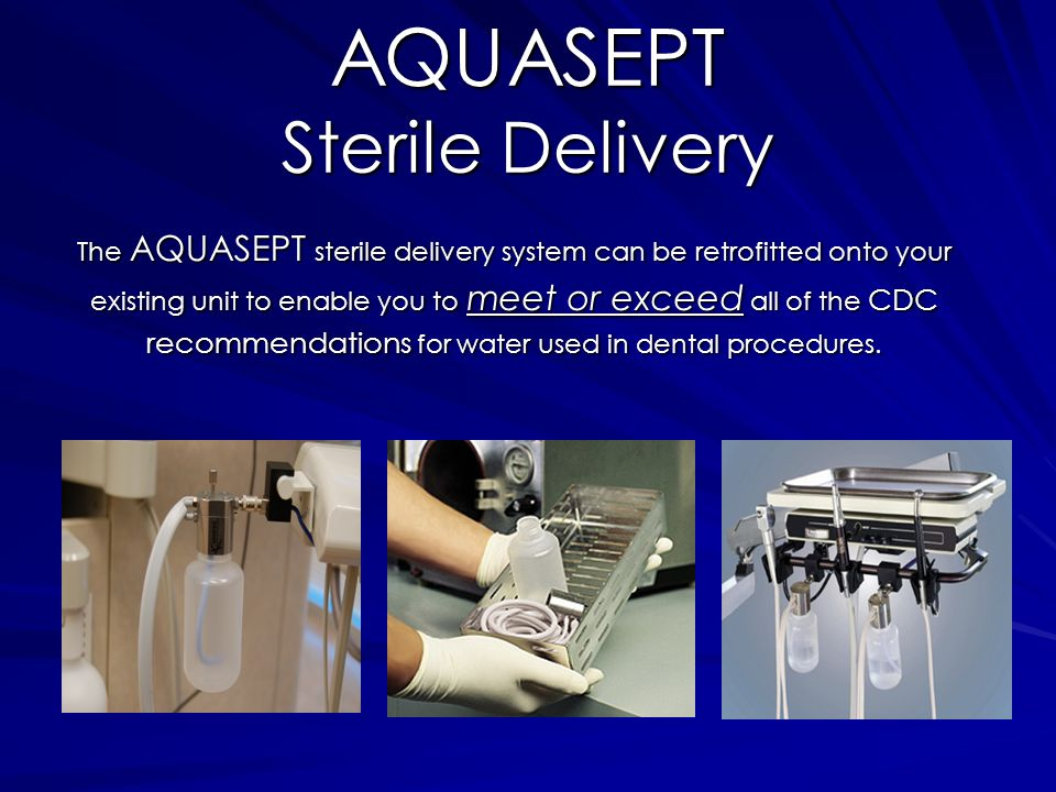 AQUASEPT Sterile Delivery