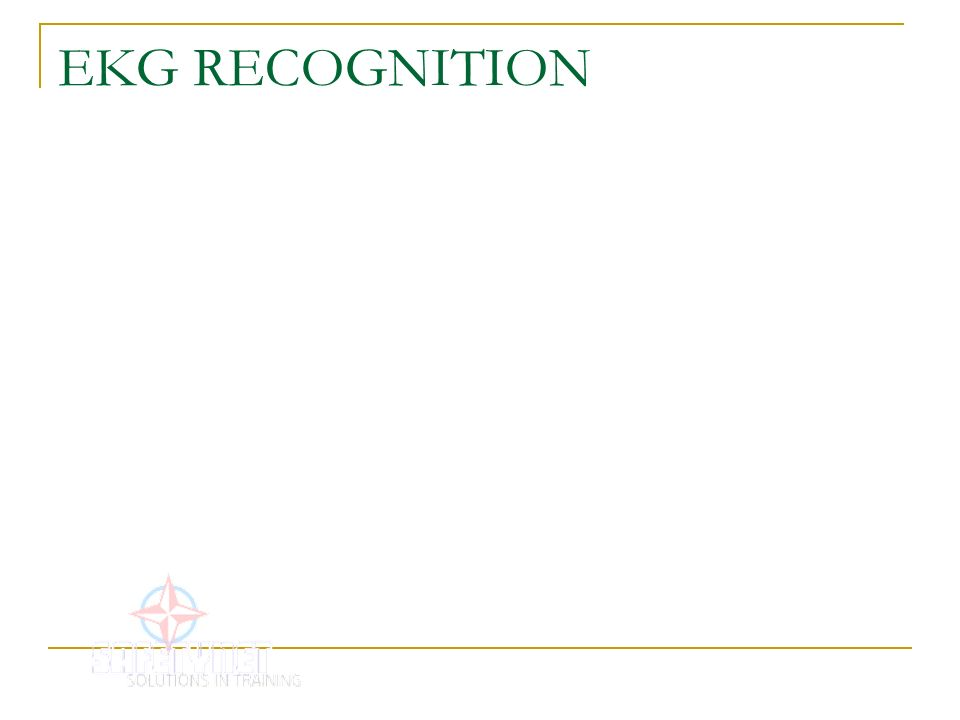 EKG RECOGNITION