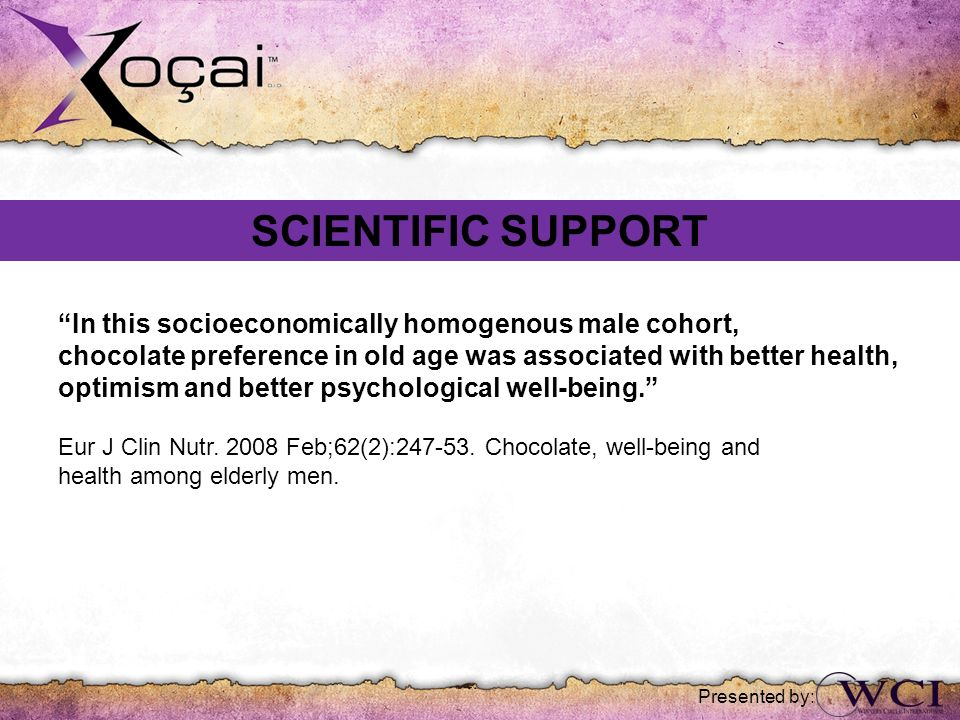 SCIENTIFIC SUPPORT In this socioeconomically homogenous male cohort,