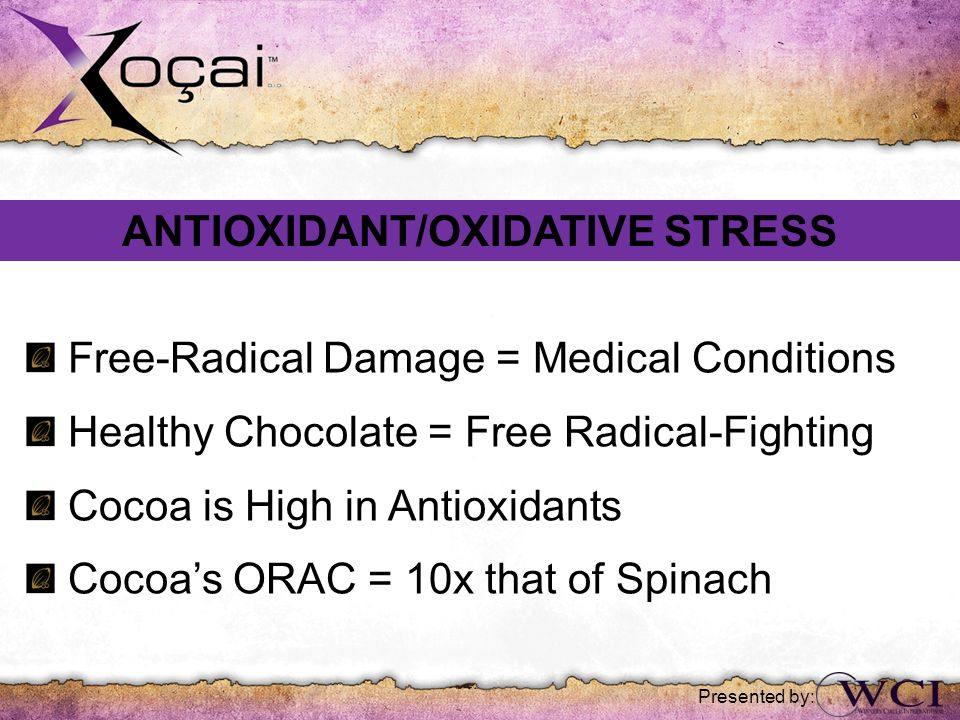 ANTIOXIDANT/OXIDATIVE STRESS