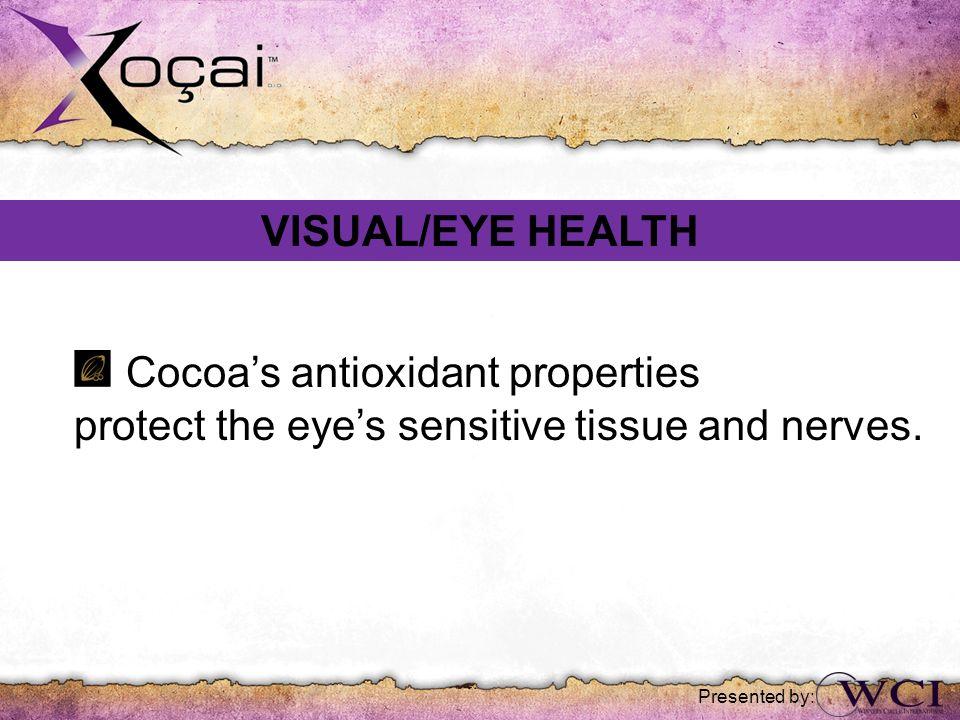 Cocoa's antioxidant properties