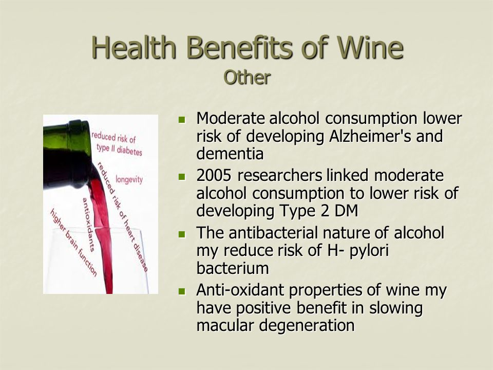 Health Benefits of Wine Other