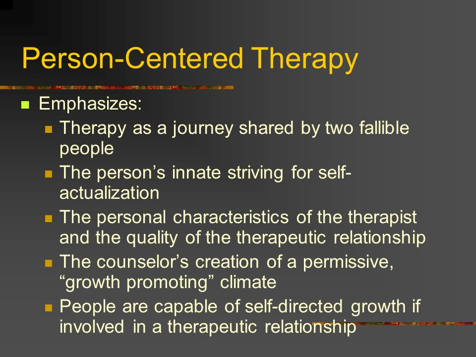 essential characteristics of counseling relationship