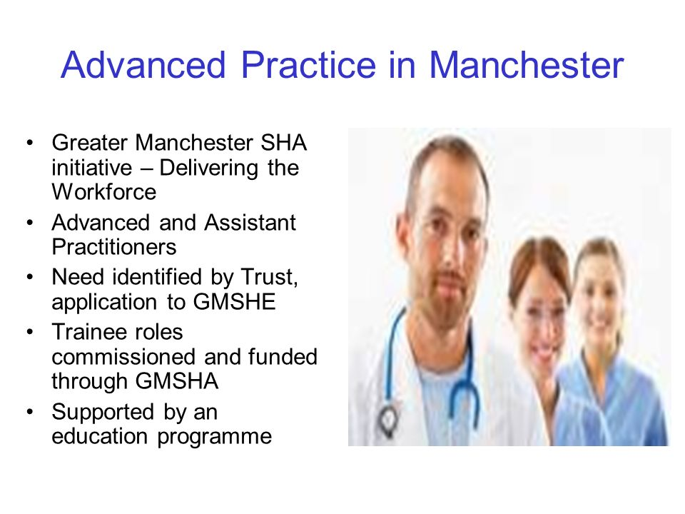 Advanced Practice in Manchester