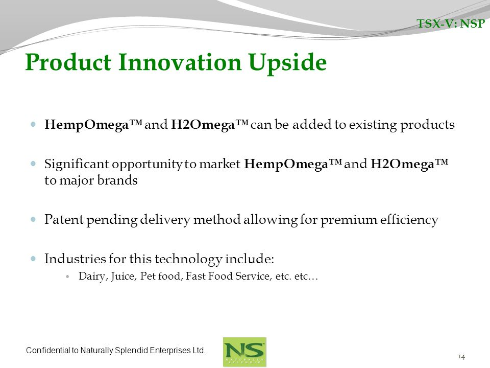 Product Innovation Upside