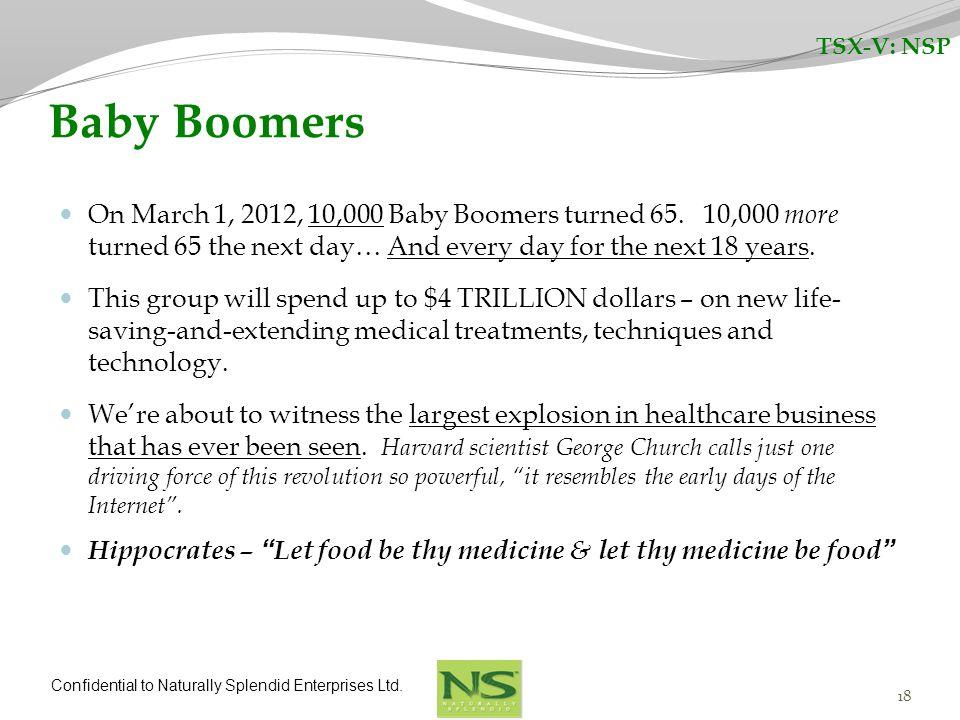TSX-V: NSP Baby Boomers.