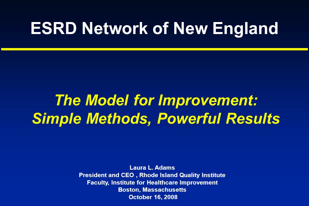 ESRD Network of New England