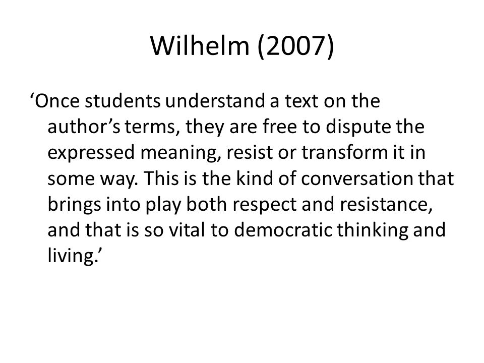 Wilhelm (2007)